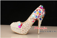 Loafers beautiful handmade bags - Beautiful Wedding Shoes Handmade Colorful Crystal Bridal Shoes and Matching Clutch Bag for Wedding Bridal Party
