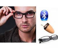 Wholesale Glasses Bluetooth LATEST G Wireless Hidden Invisible Earphone Spy Earpiece HK888