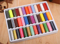 sewing thread - Hot Sale Apparel Sewing Notions Tools High Quality Colors Sewing Threads Box packed Hand Sewing Thread M1211