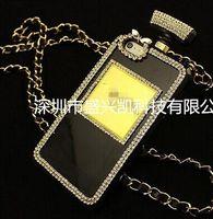 Wholesale Crystal perfume bottles apple phone shell iphone4 s phone shell iPhone5 S phone protective shell