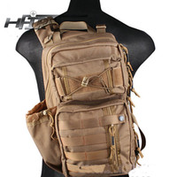 Wholesale HFIRE Tactical Shoulder Bag Molle Backpack CP