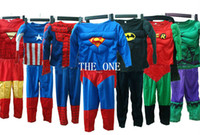Fairy Tales batman muscle costume - super heroes iron man hulk captain america superman spiderman batman full body suit costume Muscle cosplay muscle suit for children kids