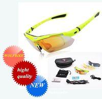 Multi amber safety glasses - WOLFBIKE Fashion Sport Men Women V400 Polarized Sunglasses Safety Eyewear Goggle Glasses Lens for Bicycle Bike Riding hight quality