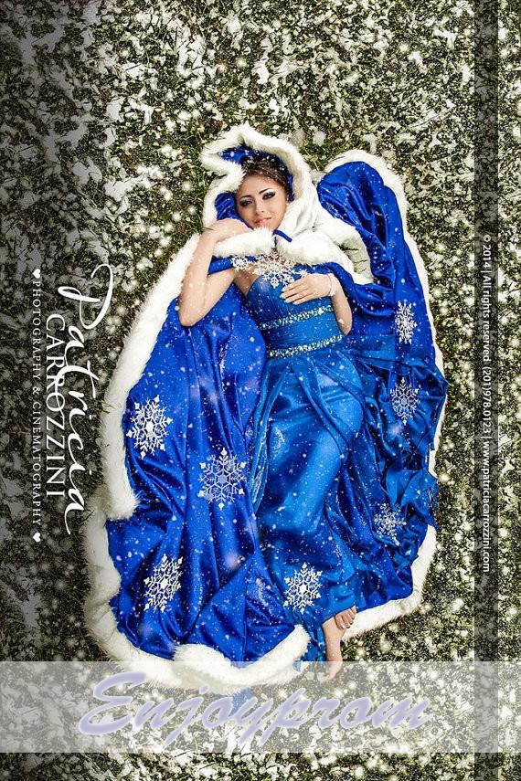 Hot sale royal blue winter bridal wraps long girls cape for Winter wedding dresses for sale