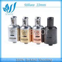 Electronic Cigarette Set Series / Stillare atomizer for 4 Colors SS Golden Black Rebuidable 1:1 Clone Dripping Stillare V2 Atomizer Electronic Cigarette Vaporizer Tank