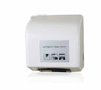 Wholesale New Wall Mount White Color Hand Dryer Automatic Induction Hand Dryer ABS Plastic
