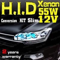 Wholesale 55W V DC HID Single Hi Lo Beam Xenon Conversion Kit Auto Car H1 H3 H4 H7 H8 H9 H10 H11 H13 H16 Colorful
