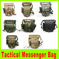 martial arts weapons - Multi Purpose Swat leg bag Military Waist Pack Weapons Tactics Outdoor Sport Ride Leg Bag Special Waterproof Drop Utility bag A271L