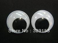 Unisex Birth-12 months Jewelry Free Shipping wholesale 18mm 2000pcs Googly Eye, Wiggle Doll Toy Eyes,Movable Eye Plastic Eyes, Black