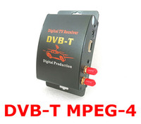 Receivers DVB-S Topcams M-629S Car DVB-T MPEG-4 Digital TV Dual Tuner Receiver Satellite Cable TV Set Top Box 2 video output support English French Spanish Russian