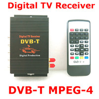 Wholesale M Car DVB T MPEG Dual tuner HD Digital TV receiver Compatible with DVB T SD MPEG2 and DVB T MPEG4 AVC H