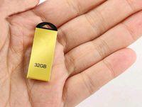 Wholesale Mini Metal usb flash drive GB GB GB GB usb flash memory stick pen drive pendrive With original retail package