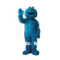 Sesame Street Cookie Monster Frog taille adulte costumes Mascot Cartoon