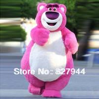 Wholesale O Huggin Bear Lotso Toy Sotry Mascot Costume EPE