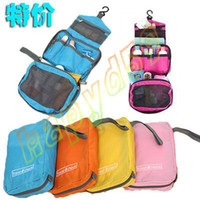 Wholesale free ship fashion cm protable women Travel Mate hanging cosmetic bags makeup toiletry purse holder wash bag organizer cosmetic pouch
