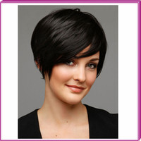 fashion hair short wig - Sexy Hairstyle short wigs synthetic hair for black women Straight Lady s Fashion Synthetic Hair Wig Wigs