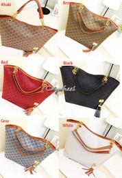 Wholesale new designer Fashion chain tassel Women s handbag vintage bag shoulder bags messenger bag female big totes SV004484