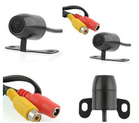 Wholesale 170 CMOS Butterfly Night Vision Waterproof Car Rearview Camera Rear View Mirror Reverse Backup Camera PC1014