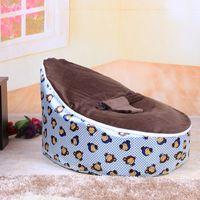 Wholesale baby bean bag chair cover BB177 FOB Bean bag Factory Cheapest Price baby bean bag cover
