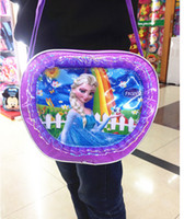 Wholesale NEW Frozen bags Children Fashion Cartoon handbags kids Small shoulder bags children day s gift children frozen purse