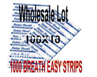 Wholesale 1000pcs x16mm Nasal Strips Breathe Better Sleep Right Tan SM MED Stop Snoring Nose Strips