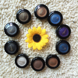 Wholesale Single Baked Professional Makeup Eyeshadow Pigment glitter in Shimmer Metallic Qiaoyan Colors Option shadows