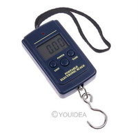 Stainless Steel Rectangle Huoshang FREE SHIPPING--Wholesale - 10g-40Kg Digital Hanging Luggage Fishing Weight Scale retail freeshipping,dropshipping