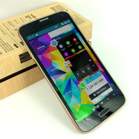 Android 1G 16GB 1:1 S5 i9600 5.1 inch MTK6582 Dual Core Android 4.2 Quad Band WCDMA Camera WiFi 3G Unlocked Smart Mobile Cell Phone Free DHL