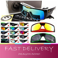 Wholesale AAAA quality factory price New Style Dragon DOMO Sunglasses Driving Sports Cycling Brand Sunglasses