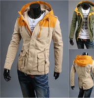 Men Hooded Long Sleeve 2014 autumn fall winter Fashion New men jackets Korean casual cardigan jacket outwear hoodies coats men's clothing SD101