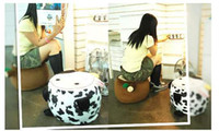 Wholesale cartoon inflatable Stools go with a pump as a gift