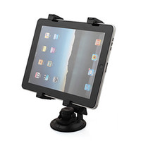 Wholesale Universal Swivel Car Mount Holder for iPad Tablet PC GPS and Netbook DV