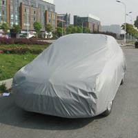 Wholesale 5pcs m m m Universal Suit Anti UV Rain Snow Resistant Waterproof Outdoor Full Car Cover M L XL XXL For Choice