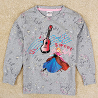 Baby Girls Frozen Elsa Anna Princess Printed Long Sleeve T- s...