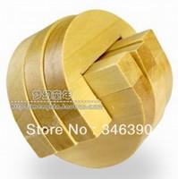 Wholesale New Hook ups Lock Adult Jigsaw wood Brain Teaser D Wooden Puzzle fancy toy hot