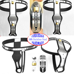 Wholesale Bondage Gear NEW Female Chastity Belt Device Stainless Steel Chastity Silica Gel Protective