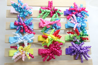 Wholesale Hot Baby Korker Hair Bows Kids Hair Bows Cute Korker Bows Baby Barrettes Mix order