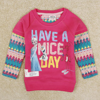 New Arrival Frozen Elsa Anna Children' s Spring Autumn T...