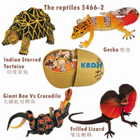 Wholesale D The reptiles educational toy KADIS plastic animal toys d puzzle