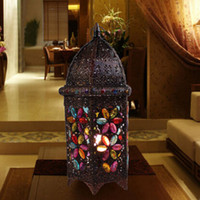 Wholesale European Classical Lamps Living Room Bedroom Study Desk Lamp Exotic Creative Personality Castle Table Lamp