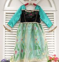 TV & Movie Costumes Teenage People Free Shipping 2014 HOT Frozen Elsa Anna Costume Princess Girls Child Fancy Swimwear 100-140cm FZ021