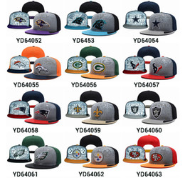 Wholesale All Teams Snapbacks Cheap Football Hats Adjustable Hats Highly Reflective Surface Snapback Caps High Quality Snapback Sports Hats Flat Caps