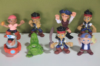 jake and the neverland pirates - Anime Cartoon Jake and The Neverland Pirates PVC Action Figure Toys Dolls set Child Toys Gift