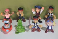Finished Goods jake and the neverland pirates - Anime Cartoon Jake and The Neverland Pirates PVC Action Figure Toys Dolls set Child Toys Gift