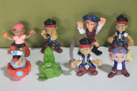 Roles jake and the neverland pirates - Anime Cartoon Jake and The Neverland Pirates PVC Action Figure Toys Dolls set Child Toys Gift