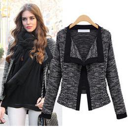 2016 Winter Sweater Jackets Coat Hot Fashion Women Short Jackets Plus Size Runway Coat Ladies Long Sleeve Trench Coat Cardigan Parka W37