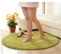 bath rugs round - Diameter Round fashion super soft carpet floor rug area rug slip resistant mat doormat bath mat for bedding room