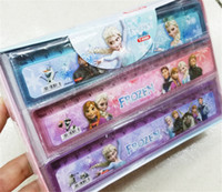 Free shipping plastic ruler - New cm Plastic Rulers Frozen Ruler Straight Ruler Anna Elsa Students Rulers Pieces