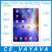 Under $200 9.7 inch ips capacitive - 2014 New Onda V919 G MTK8382 Quad Core inch Phone Tablet PC Android IPS Capacitive Touch Screen G G With