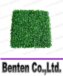 césped artificial de plástico artificial de madera de boj hierba estera 25cm * 25cm LLFA7022 el envío libre